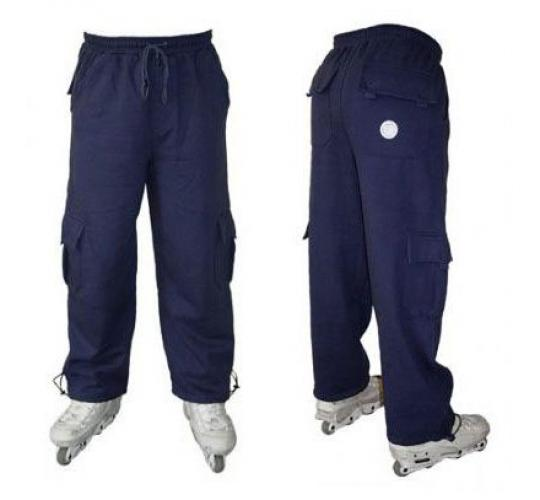 Joblot of 10 Boys Branded Bernys Navy Blue Skate Kex Trousers
