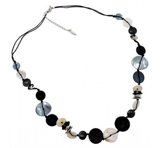 Joblot of 10 Anna Nova Mixed Shell & Metal Beaded Necklaces