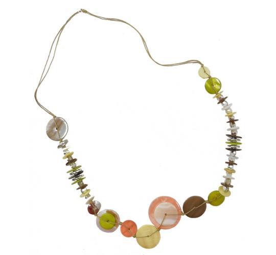 Joblot of 10 Anna Nova Mixed Large Shell Beaded Necklaces