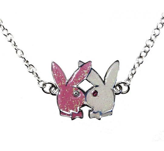 Joblot of 5 Playboy Necklace & Earrings Pink & Cream Jewellery Gift Sets