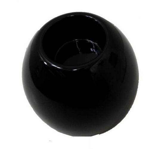 Joblot of 8 Colony Tall Round Black Tealight Holders (M9176DUN)