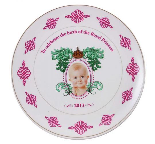 Joblot of 50 Royal Princess 2013 Celebration Souvenir Plates