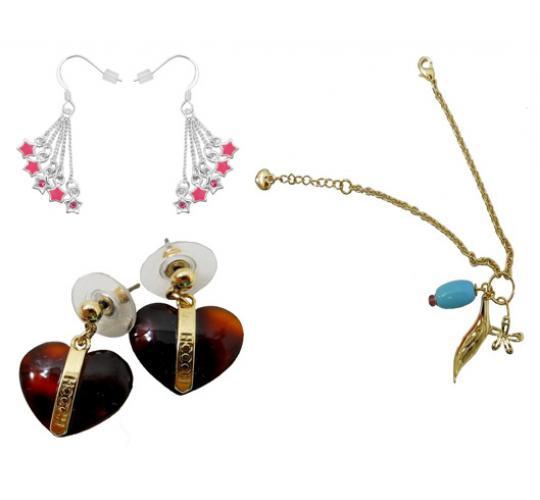 Joblot of 100 Ladies Mixed Hooch Jewellery