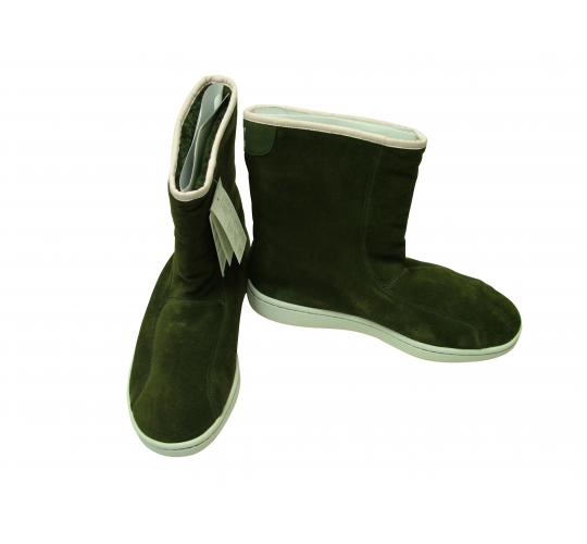 Joblot Of 10 Ladies Adidas Stan Winter Boots In Green Suede