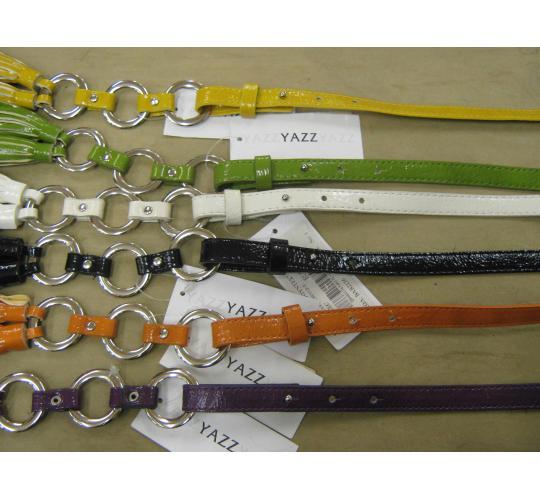 One Off Joblot Of 76 Funky Yazz Tassel Belts In An Assortment Of Colours