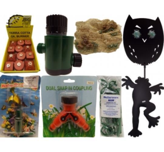 Wholesale Joblot Of 50 Mixed Garden Stock From Betterware & Kleeneze