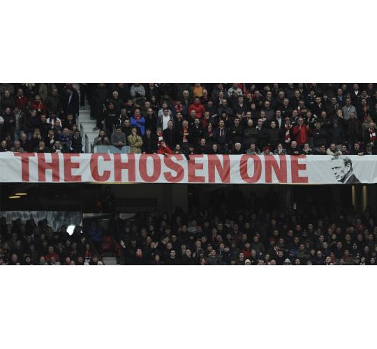 The Chosen One Moyes Banner