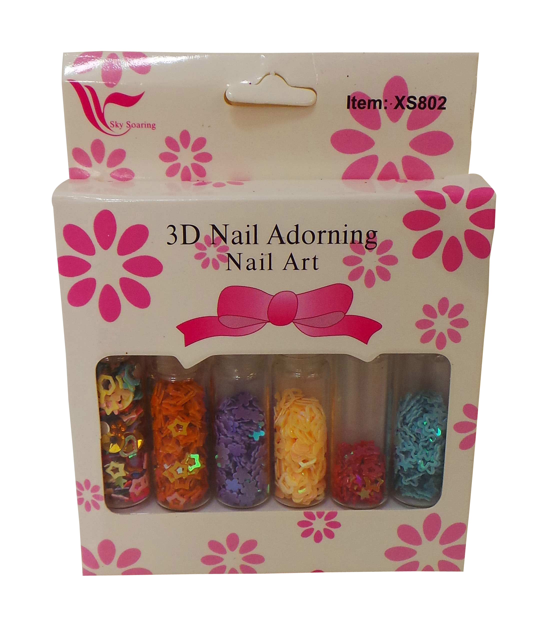 Wholesale Joblot Of 100 Decorative Nail Art Sets Various
