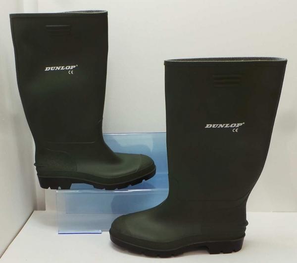 b5560130bd1 Joblot of 9 Dunlop Mens Pricemastor Green Wellington Boots 380VP