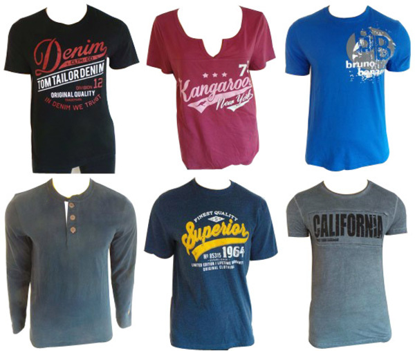 ca79aaea0ac4a Wholesale Joblot of 10 Mixed Mens   Womens T-Shirts Range of Designs