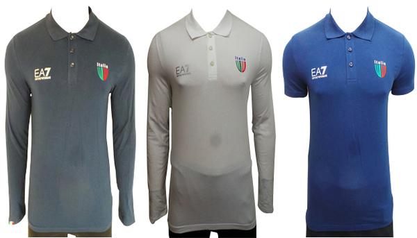 a3a42d65d2 Wholesale Joblot of 5 Emporio Armani Mens EA7 Polo Shirts Long & Short  Sleeve
