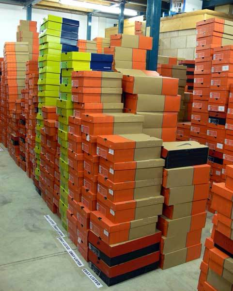 26 Pallets Of Branded Shoes And Trainers Including Nike