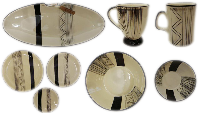 One Off Joblot of 15 Limpopo Etch Ceramics Oval Plates Mugs Dinner Plates Etc  sc 1 st  Wholesale Clearance UK & One Off Joblot of 15 Limpopo Etch Ceramics Oval Plates Mugs Dinner Plates Etc
