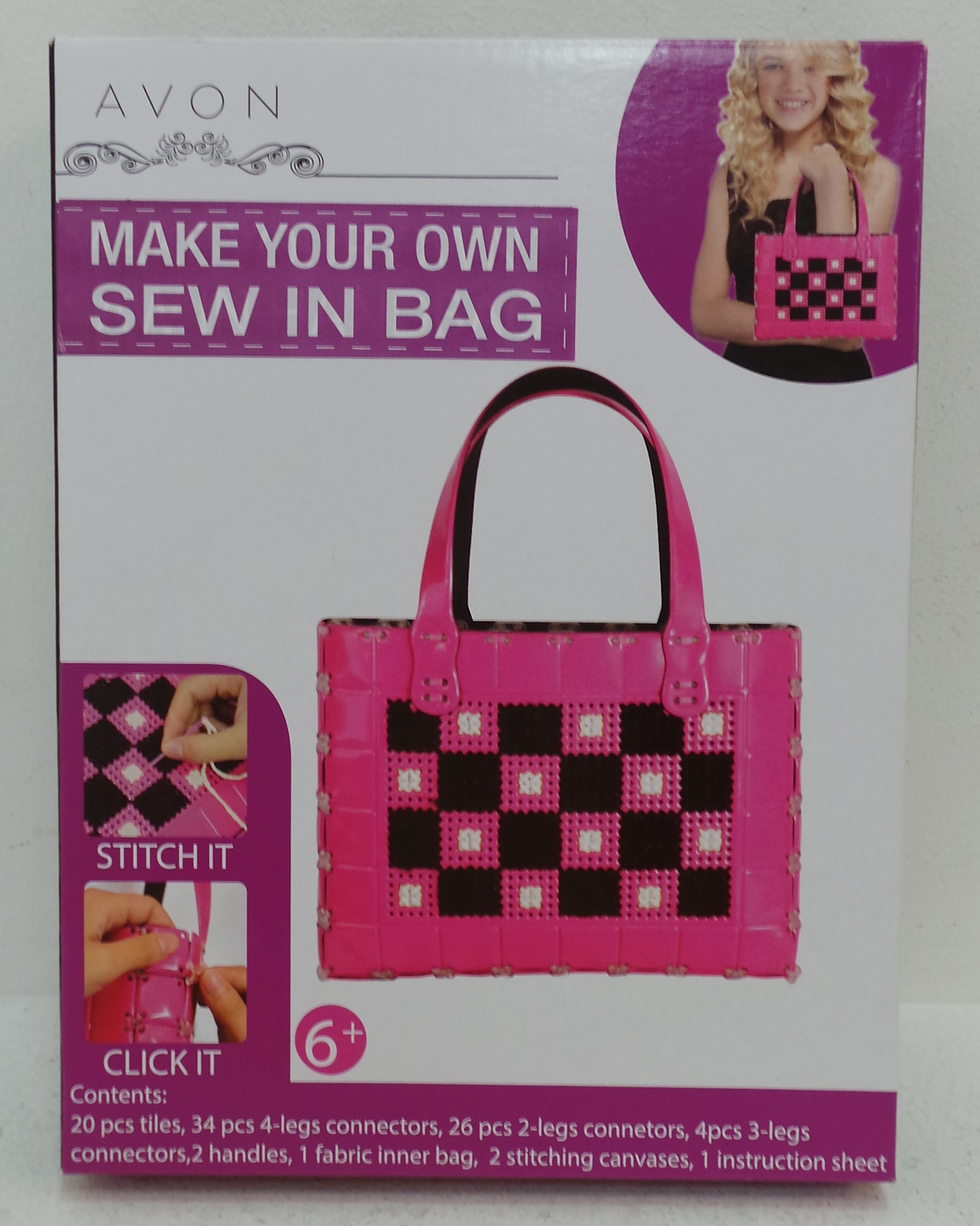 d756976806fb Wholesale Joblot of 10 Avon Make Your Own Sew In Bag Craft Kit