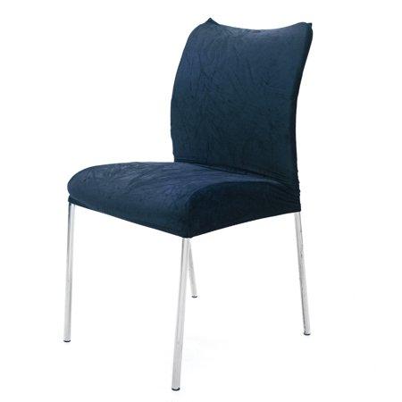 One Off Joblot of 12 Packs of 4 Navy Velvet Dining Chair ...