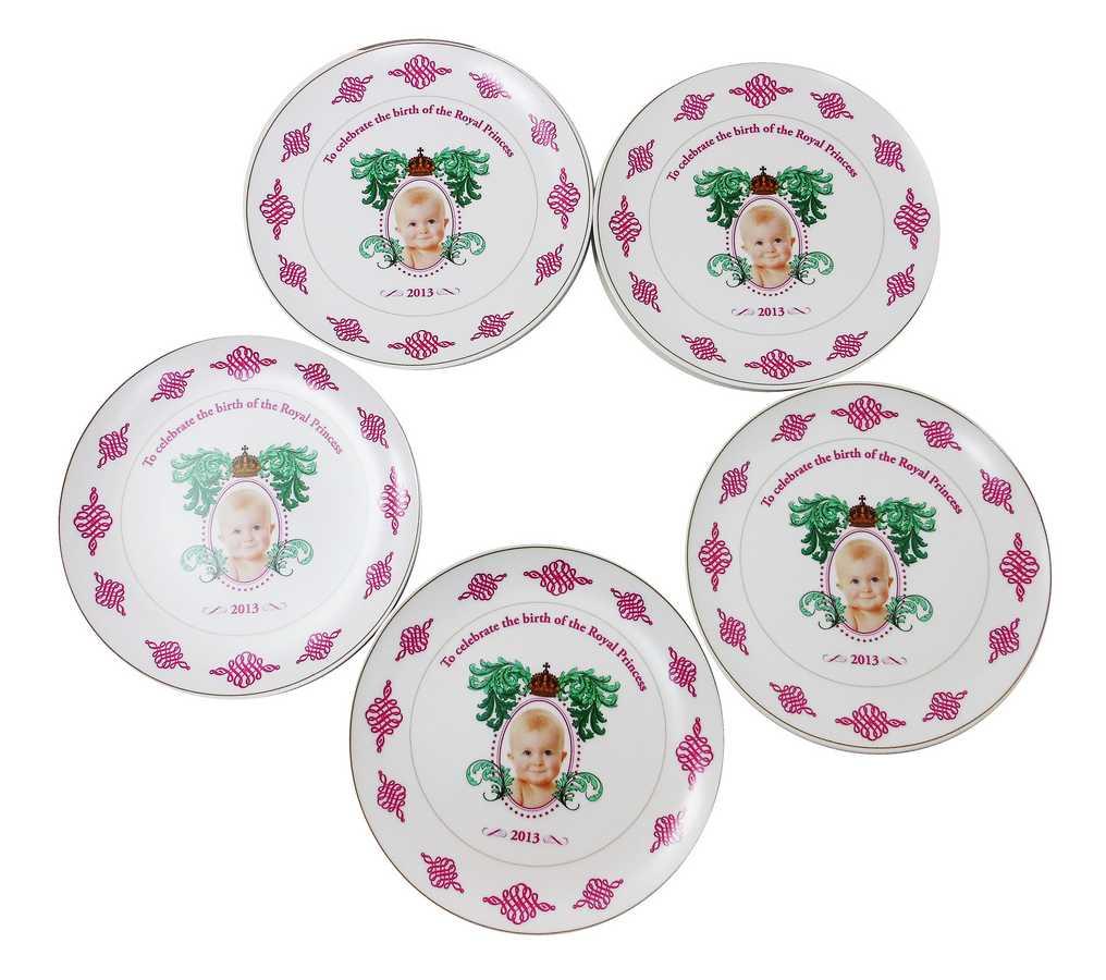 50 royal princess 2013 celebration souvenir plates